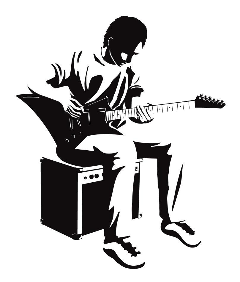 vector guitar player by laitnin on DeviantArt