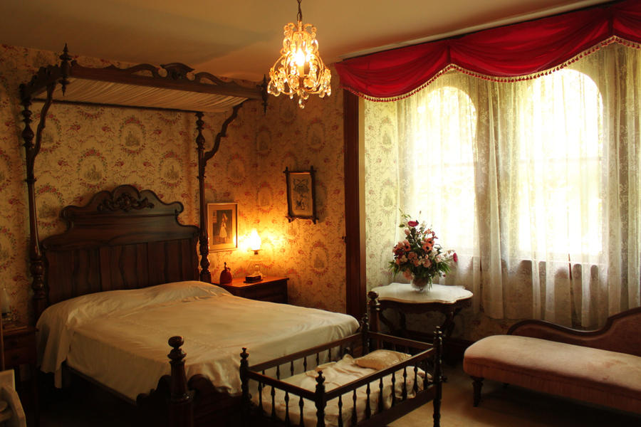 Victorian bedroom by decayedyouth on deviantart for Bedroom ideas victorian