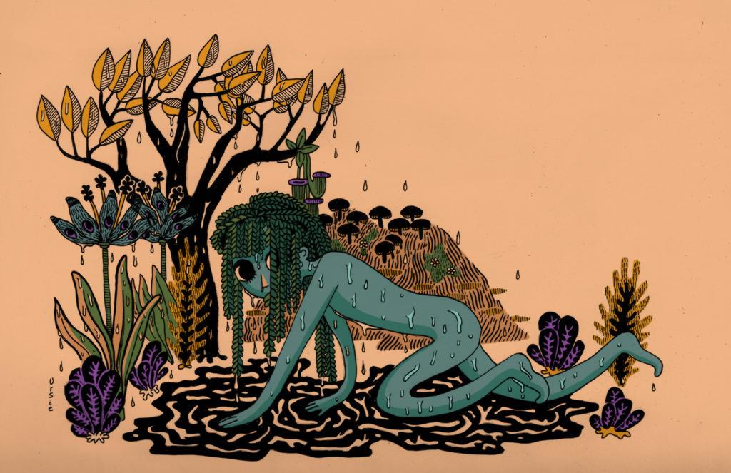 Rain and Plants