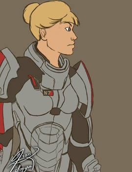 'My Name is Commander Shepard.