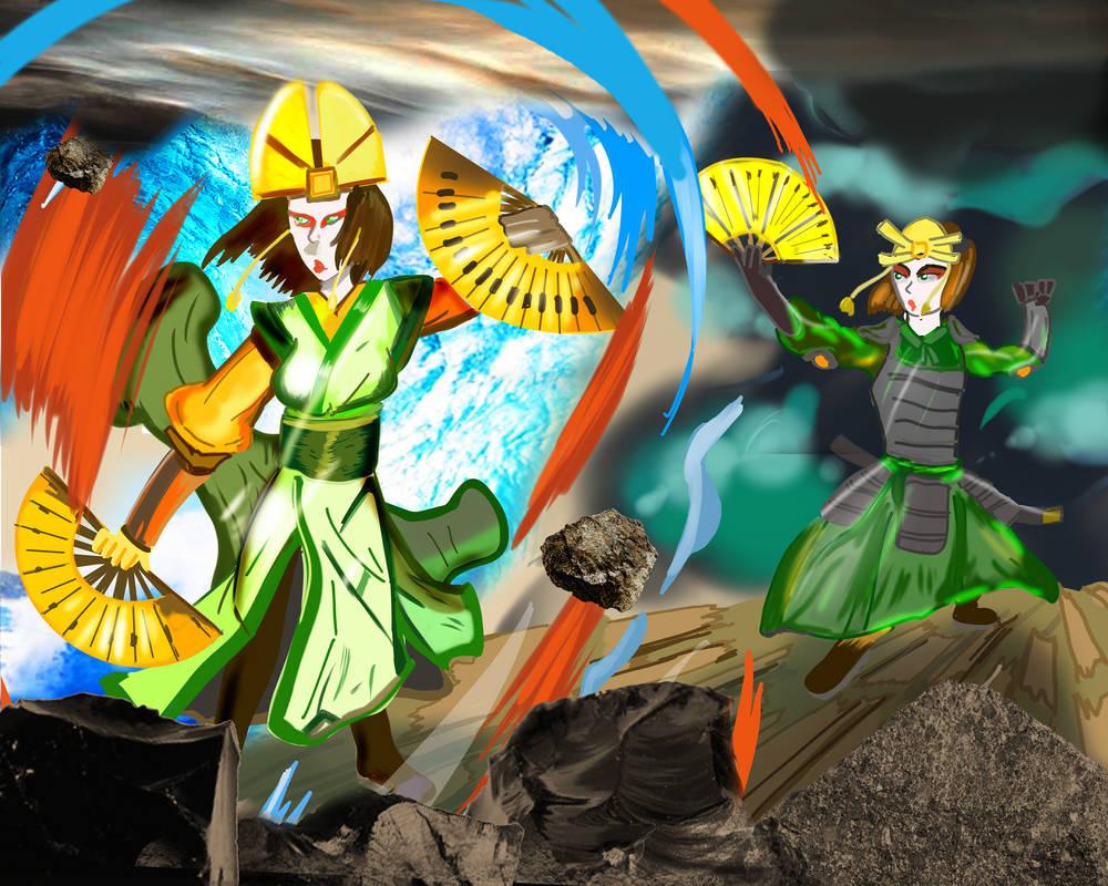 Avatar Kyoshi and Suki - The heritage by tokugawamusashi