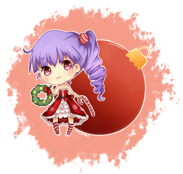 christmas desu by miniezebra