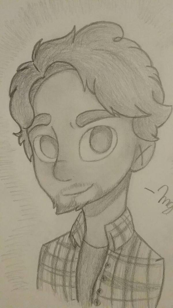 Alex Hirsch (shaded) by GeekyDragon5