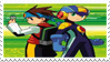 Megaman Battle Network Stamp by ColleenekatStamps