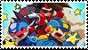 Team Shooting Star stamp by ColleenekatStamps