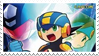 Starforce Battle Network Crossover Stamp by ColleenekatStamps