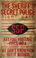 The Sheriff's Secret Police: Night Vale by 8zu