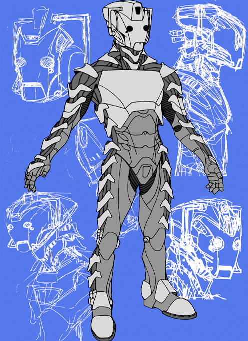 New CyberMen by MrNorth