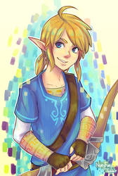 Link? Zelda? I don't know, but I want this game. by Nuryfury