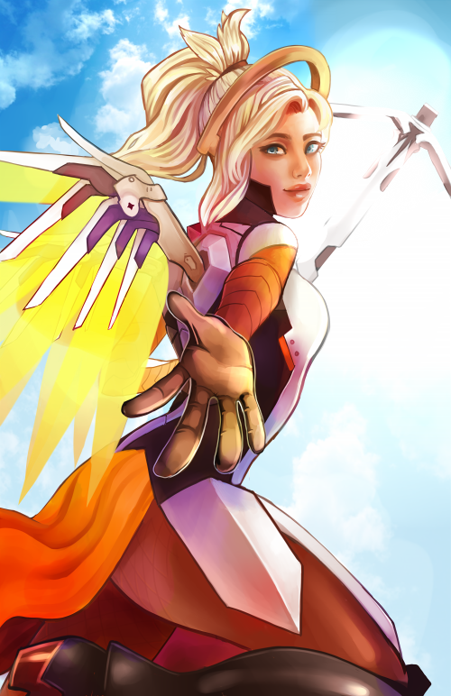 Mercy by Nuryfury