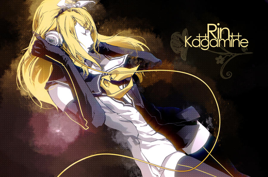 Kagamine Rin Wallpaper by MilchToChi