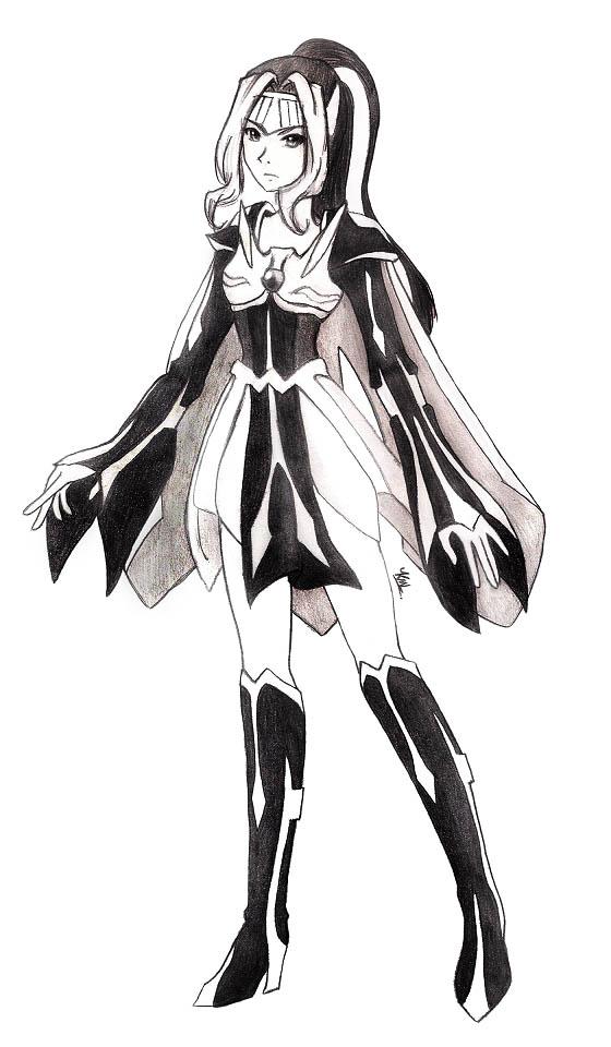 Legendary Pokemon Human Form Female