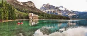 Emerald Lake 2 Picture Pano 2