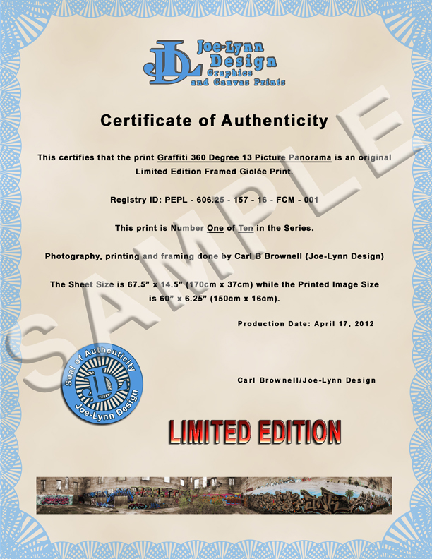Certificate of authentication by joe lynn design on deviantart certificate of authentication by joe lynn design yadclub Image collections