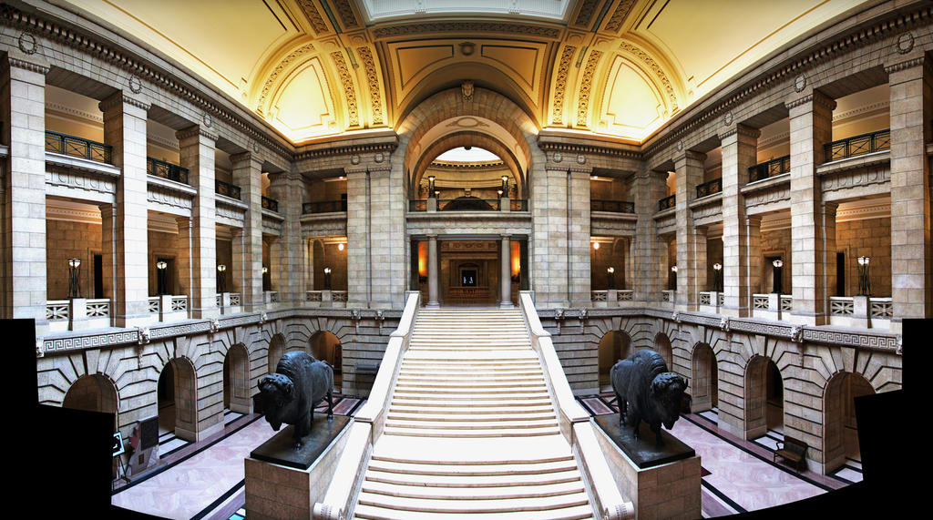 Inside the Legislative Building 10 Pic Panorama by Joe-Lynn-Design ...