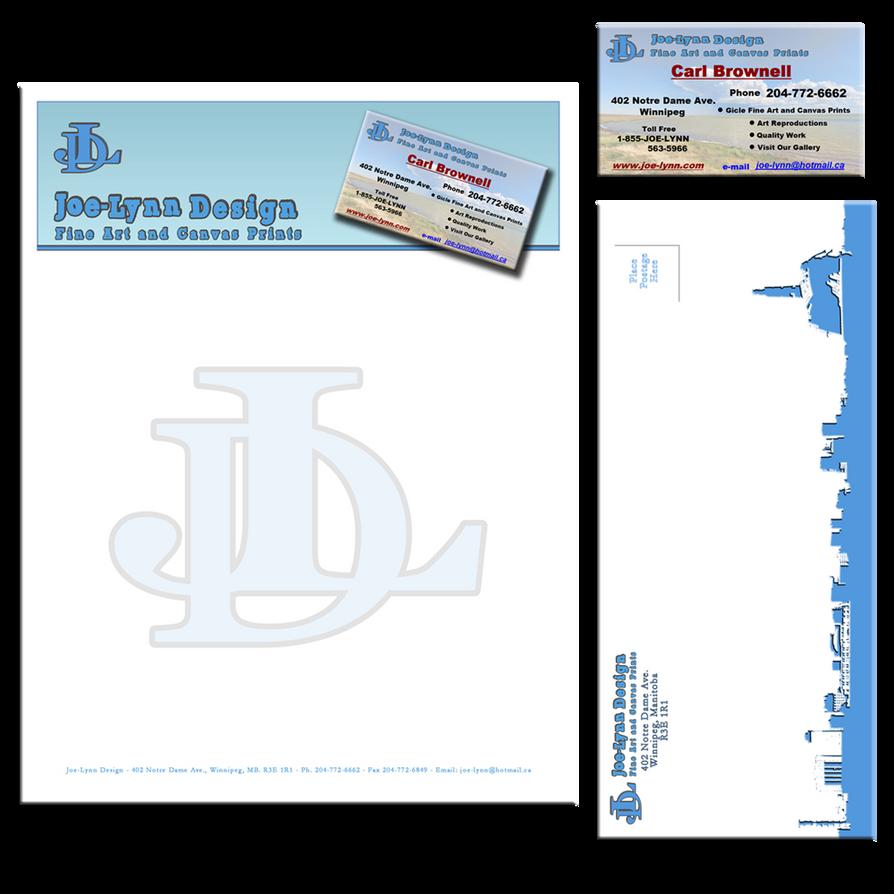 Letterhead Business Card and Envelope by Joe-Lynn-Design on DeviantArt