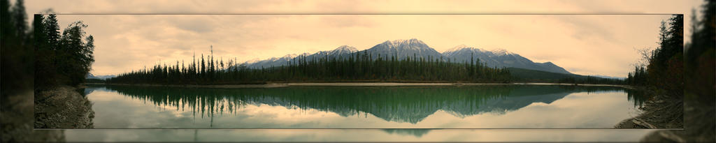 Columbia River 4 Pic Panorama by Joe-Lynn-Design