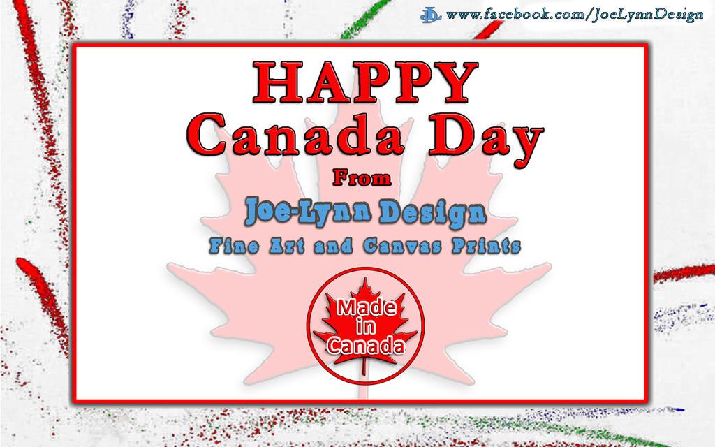 Happy Canada Day by Joe-Lynn-Design