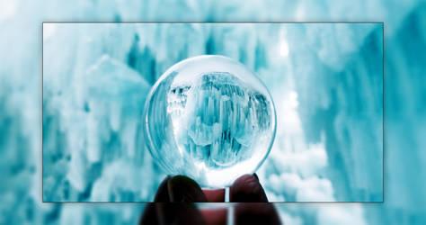Lensball - Ice Mountain