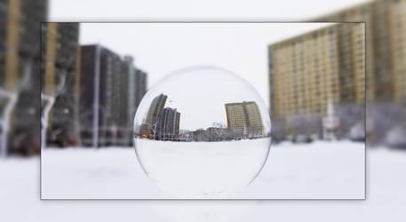 Lensball in Central Park