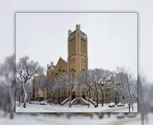 Knox United Church Panorama