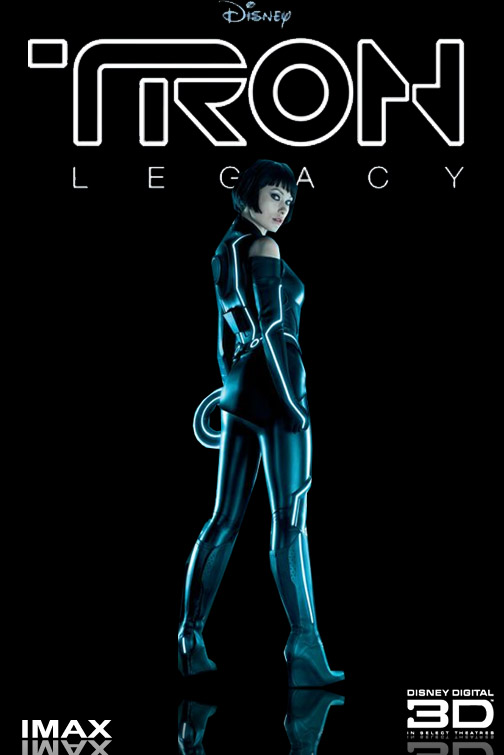 TRON LEGACY POSTER 2 by NERD485