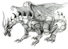 armour dragon