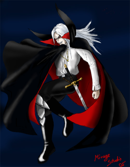 Anime Characters Vampire : Vampire anime character by clivelee on deviantart