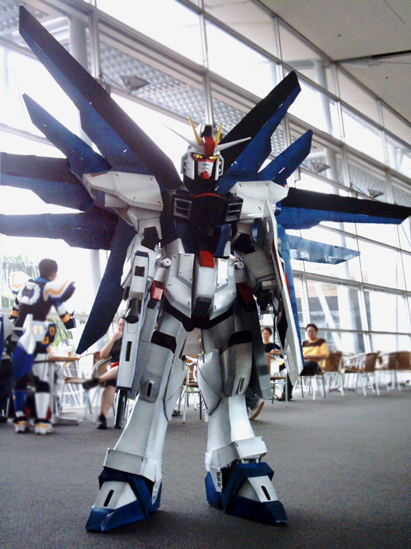 Freedom Gundam - 1 of 3 by Clivelee