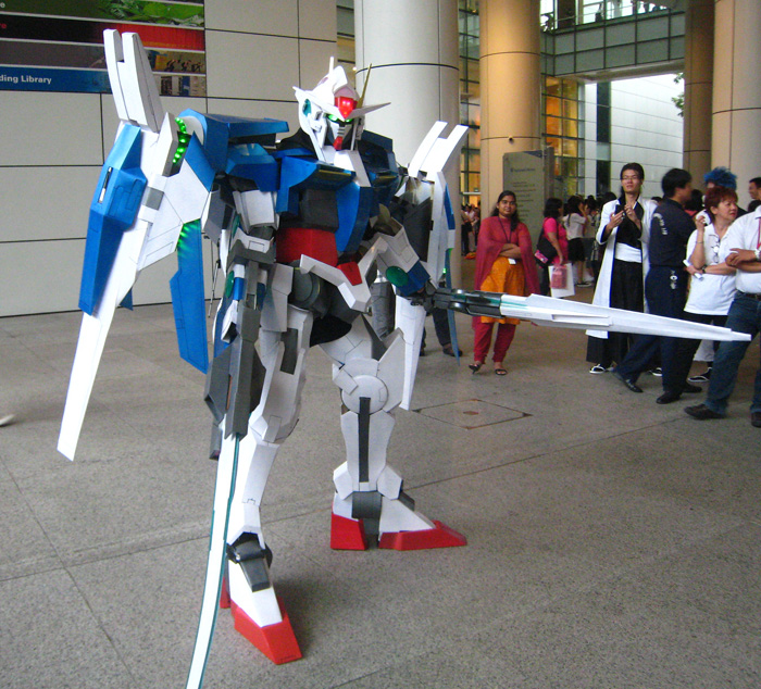 Gundam 00 Raiser - 8 of 10 by Clivelee