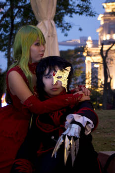 Code Geass (Illustration book) - Lelouch cosplay