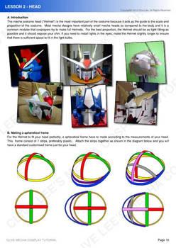 Gundam mecha cosplay tutorial - Lesson 2 -1