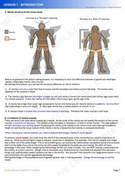 Gundam/ Mecha cosplay tutorial - Lesson 1-4