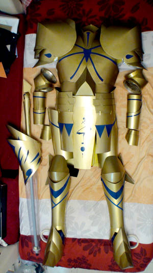 Fate Zero - Gilgamesh costume WIP