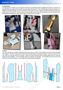 Gundam mecha cosplay tutorial - Lesson 5 - 1