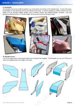Gundam mecha cosplay tutorial - Lesson 7 - 1
