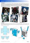 Gundam mecha cosplay tutorial - Lesson 10 - 1