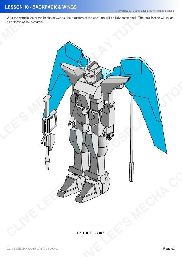 eda059e117fa3 General Gundam Mecha Cosplay Tutorial