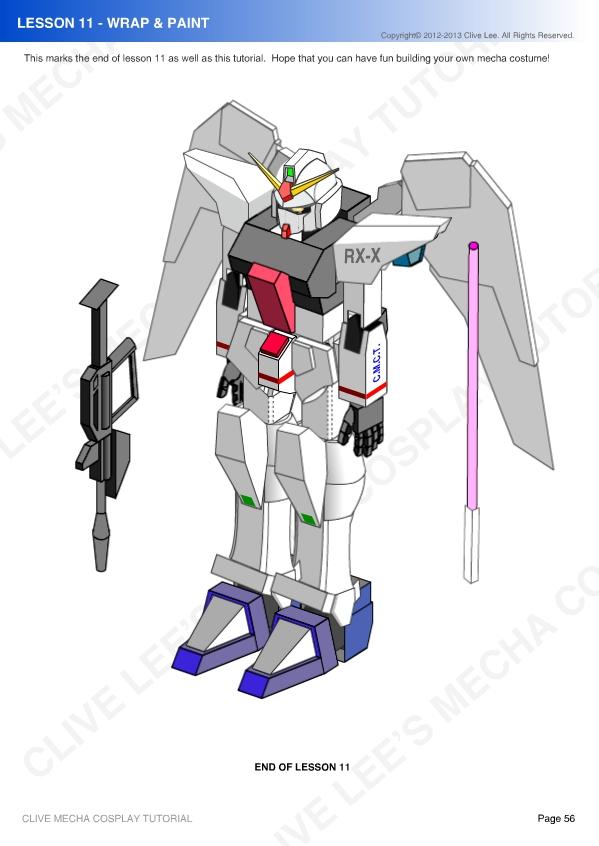 General Gundam/Mecha Cosplay Tutorial