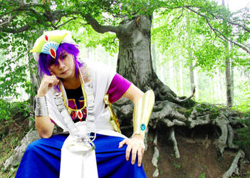 Sinbad cosplay from Magi