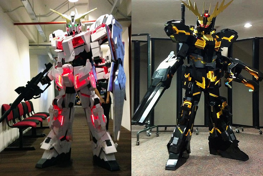 Cosplay au Japon. Le best of!!! - Page 2 Gundam_unicorn_and_banshee_cosplay_by_miragecld-d6lu6bi