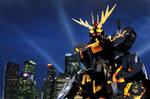 Banshee Gundam cosplay  photo