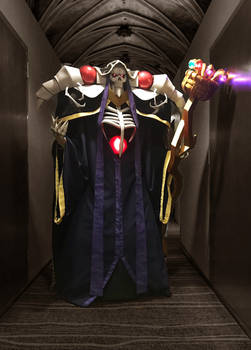 Ainz Ooal Gown cosplay 1