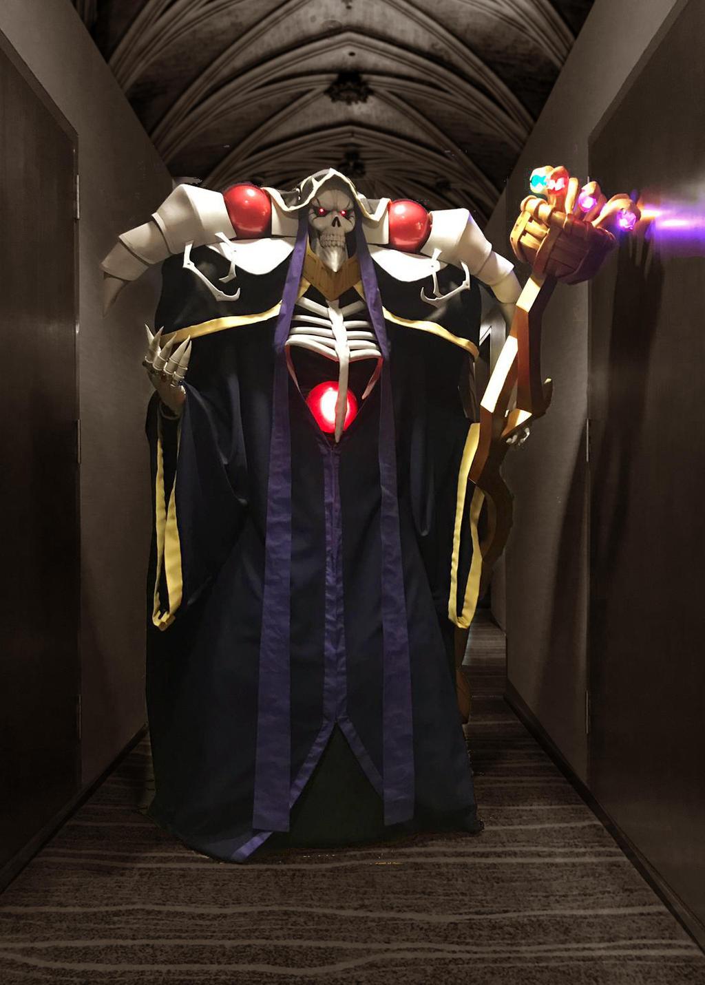 Ainz Ooal Gown cosplay 1