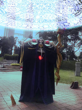 Ainz Ooal Gown cosplay 2