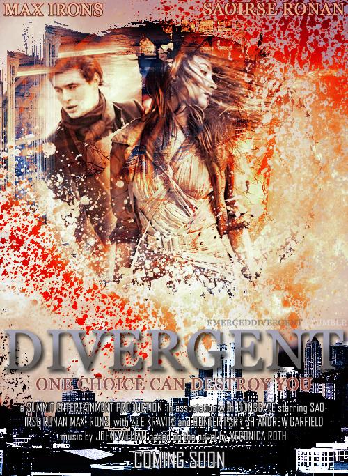Divergent movie poster by xSavannahxx