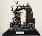 Diorama grave digger