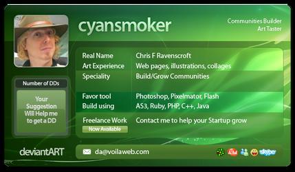 Deviant ID 2 by cyansmoker
