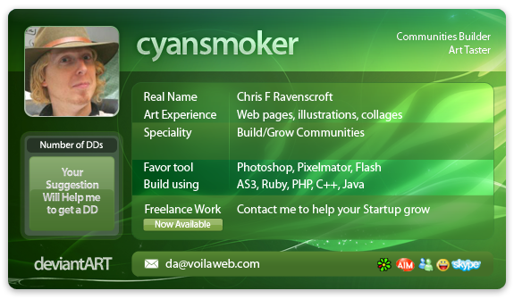 cyansmoker's Profile Picture