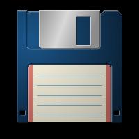 Random floppy disk by SvenneTheBlockhead